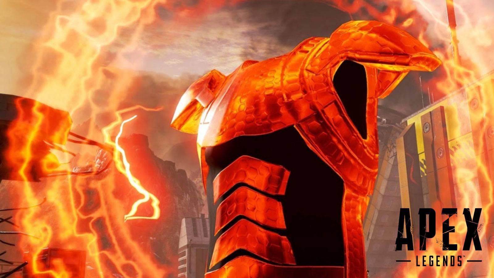 Apex Legends bouclier évolutif rouge