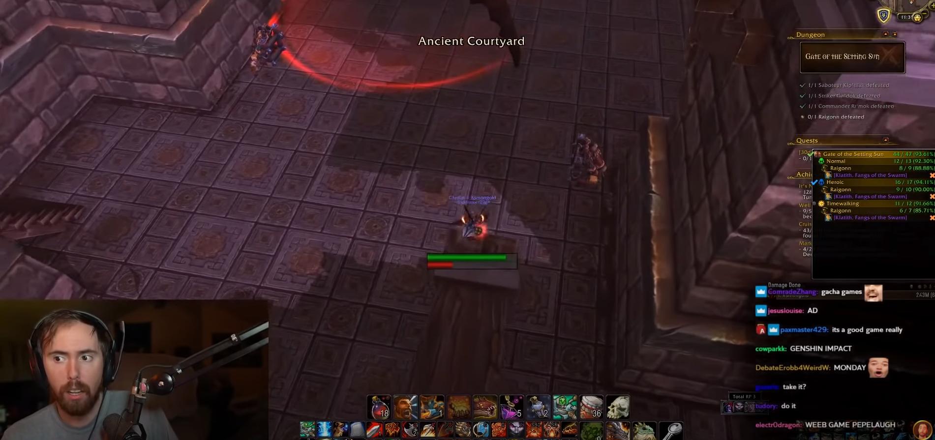 Asmongold a eu une généreuse proposiiton pour streamer sur un jeu