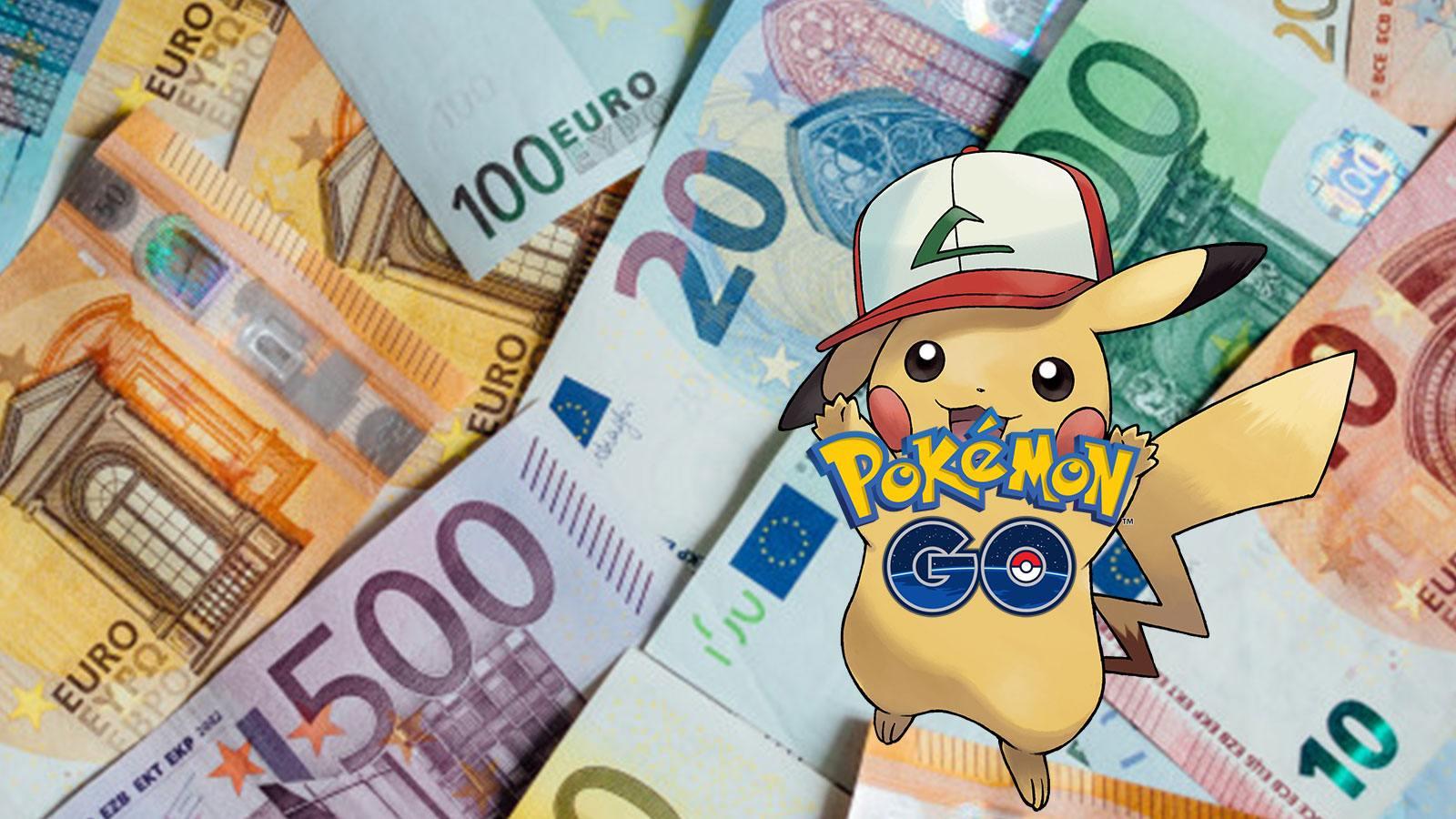 Pokémon Go Pikachu revenus euros Pookémon Company Niantic