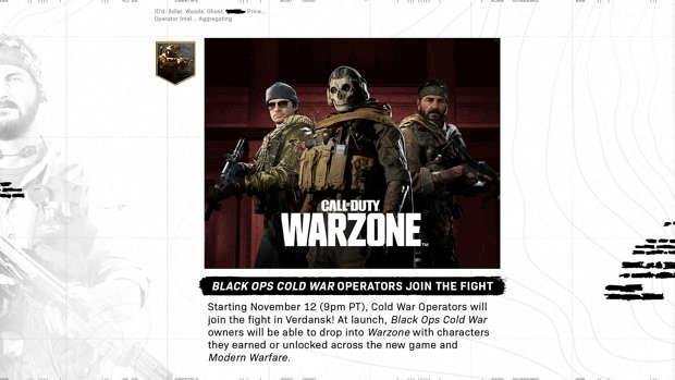 annonce Activision Warzone opérateurs MW BOCW