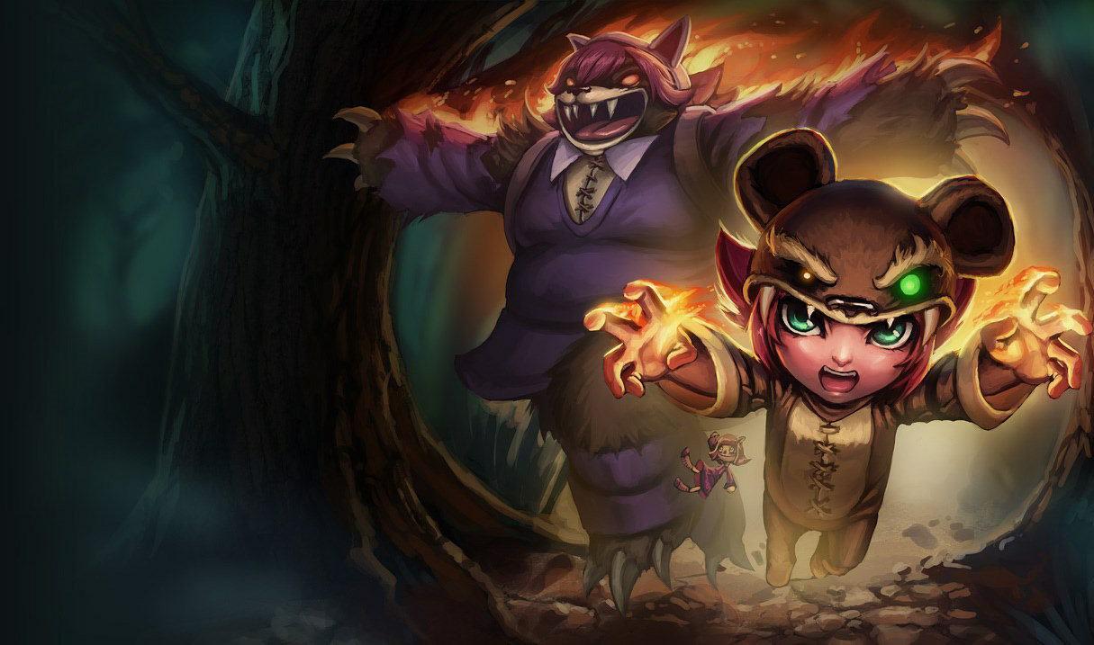 Le champions Annie dans League of Legends