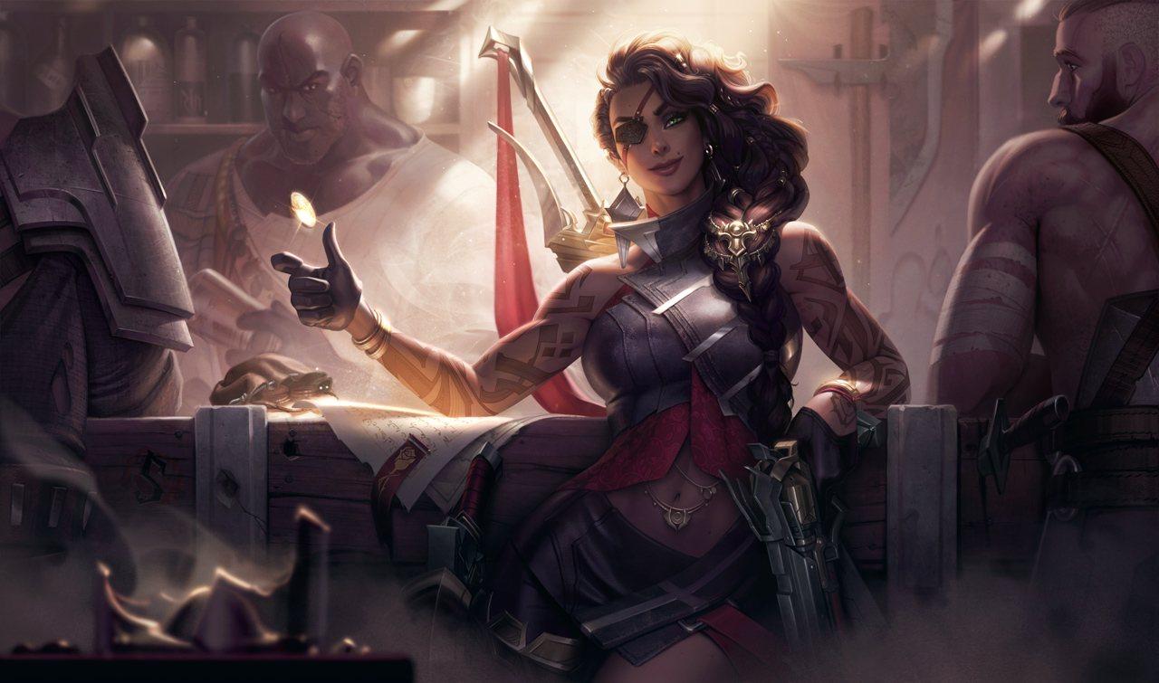 Le champions Samira dans League of Legends