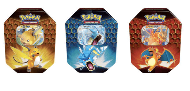 boîtes aluminium Pokémon TCG