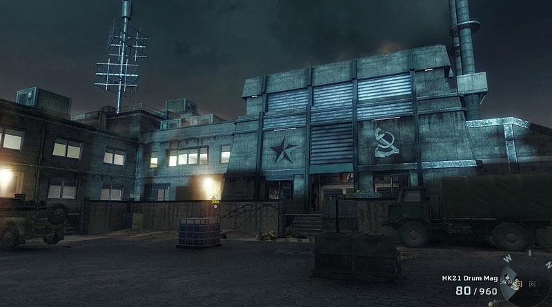 Screenshot de Reibrth Island dans Black Ops