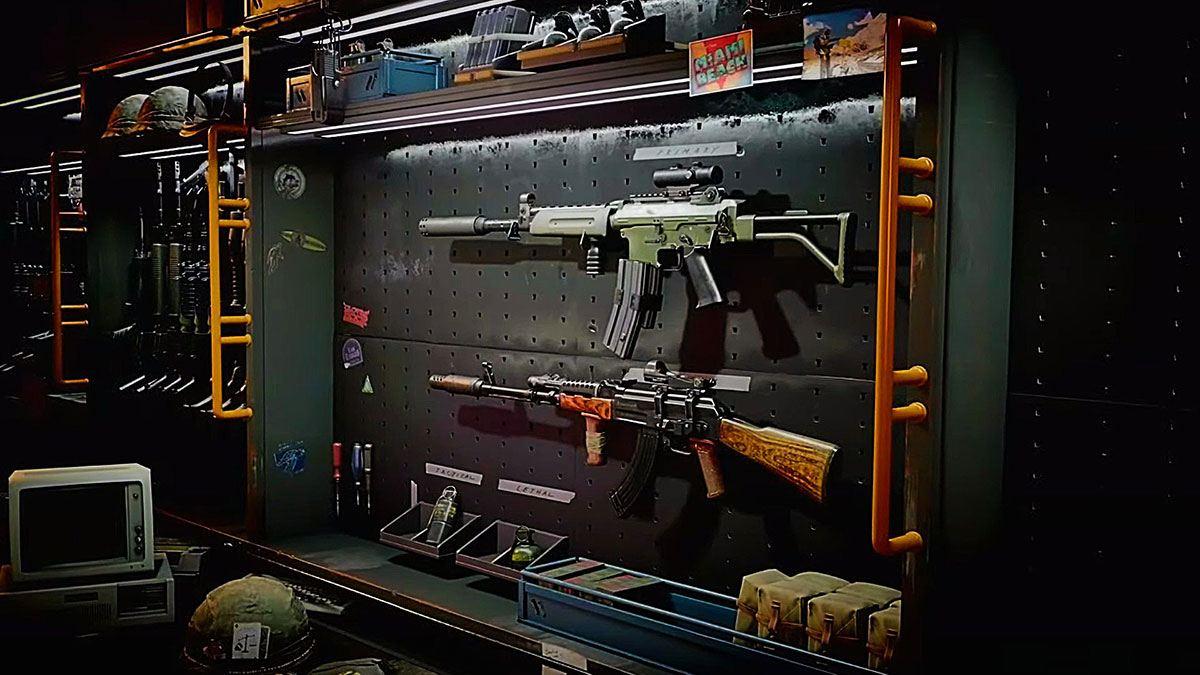 Armes dans Black Ops Cold War