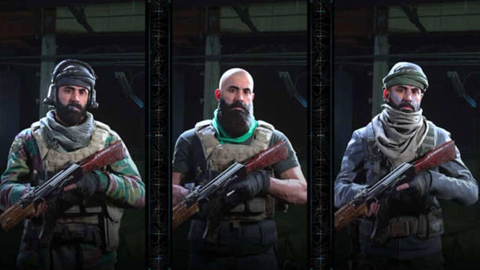 Modern Warfare opérateurs Infinity Ward
