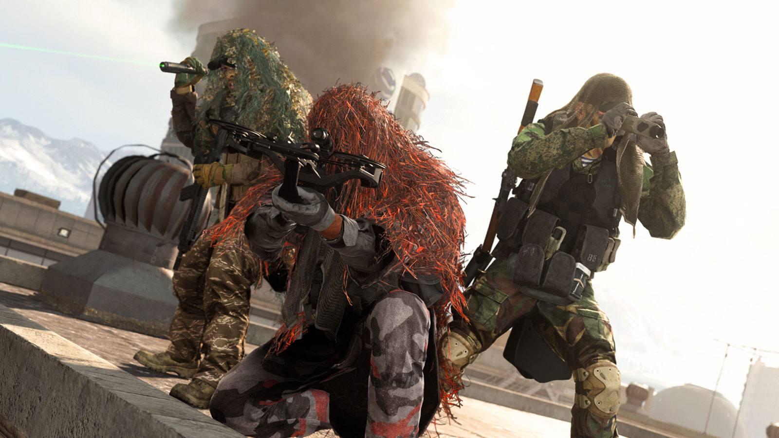 CoD Warzone mode escouade Infinity Ward