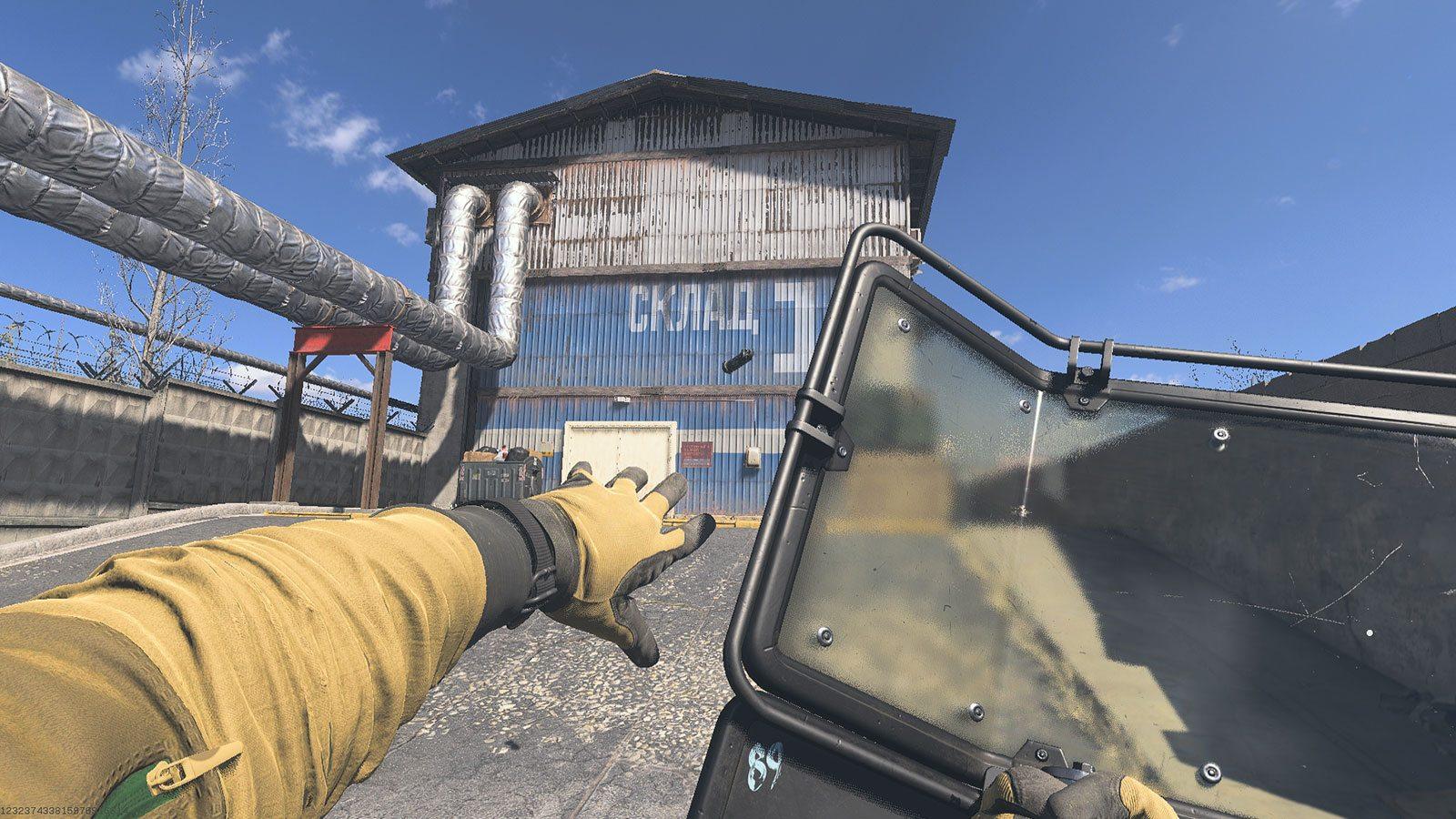 CoD riot shield lancer de grenade Activision