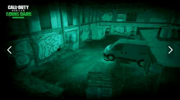 CoD Mobile Saison 12 Going Dark Activision Hackney Yard de nuit