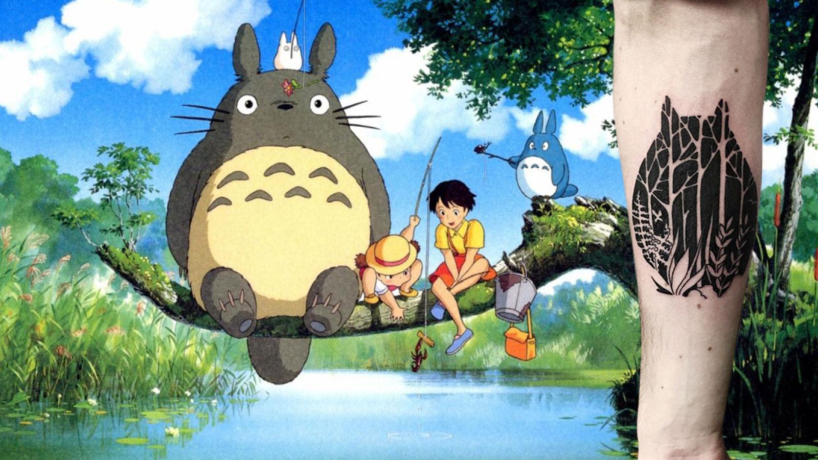 Les plus beaux tatouages Ghibli