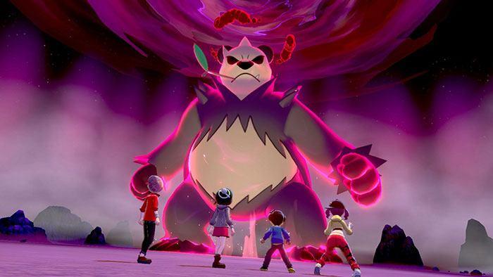 Raid DYnamax sur Pokémon Épée et Bouclier