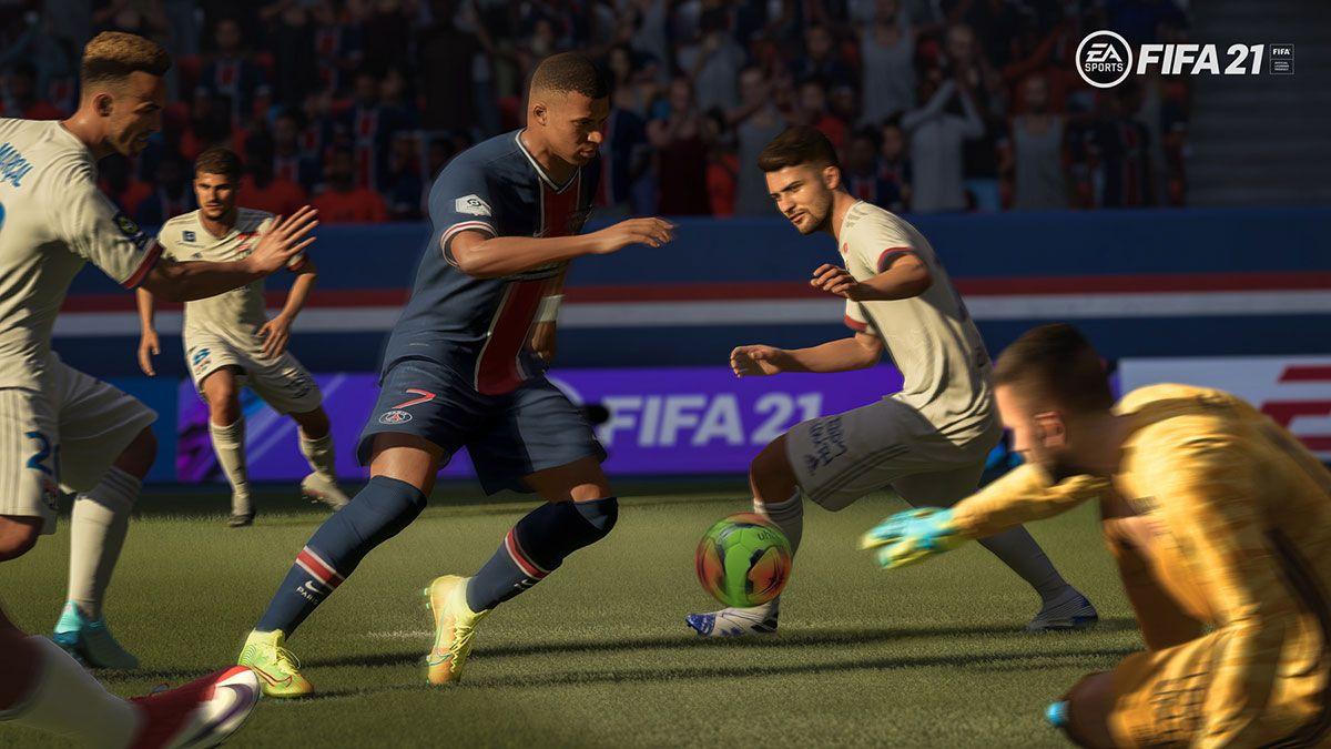 Mise à jour des tactiques de pression sur FIFA 21