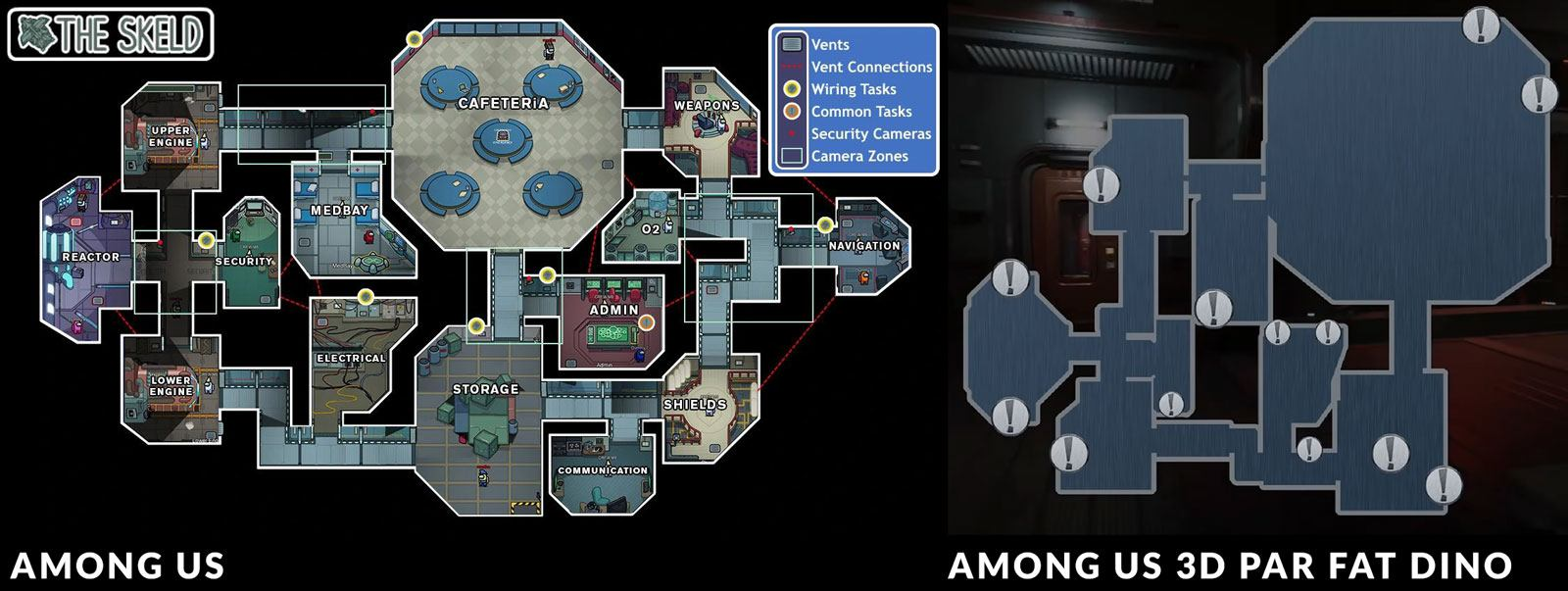 Map d'Among Us 3D