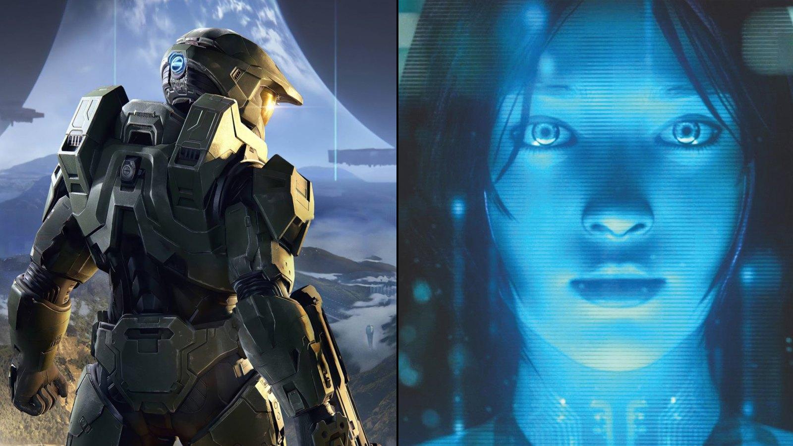 Cortana dans la série Halo