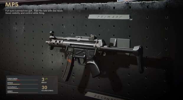 La meilleure classe MP5 pour la saison 3 de Black Ops Cold War