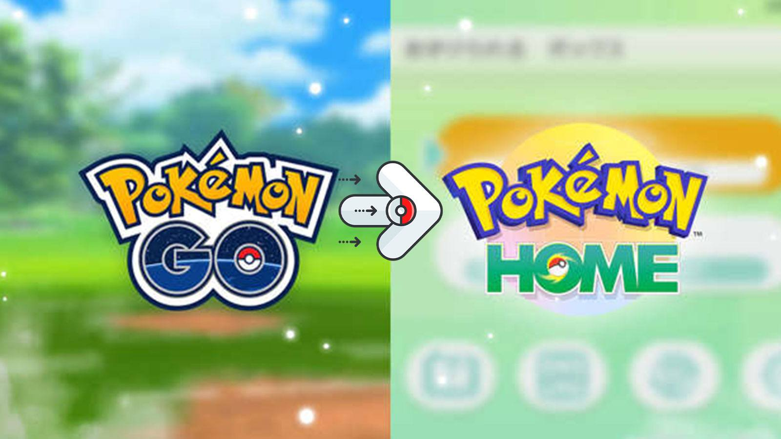 transfert Pokémon Go Pokémon HOME