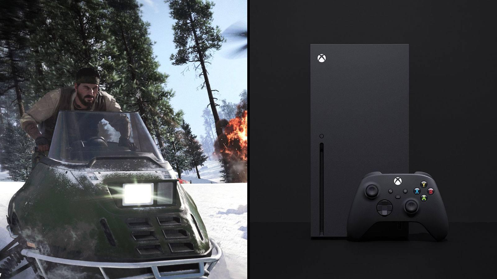 BOCW moto-neige | Xbox Series X