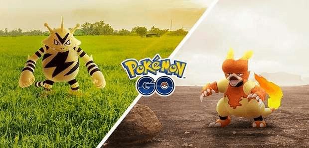 journée de la communauté Élecek Magmar Pokemon Go