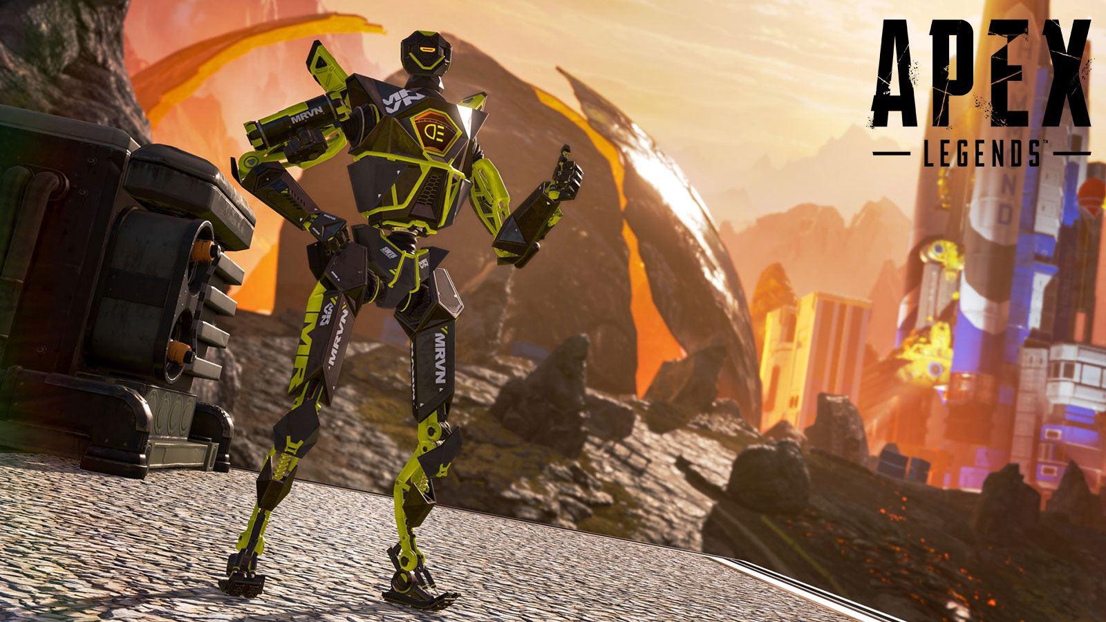 Patch Pathfinder Apex Legends thumbs up Respawn Entertainment