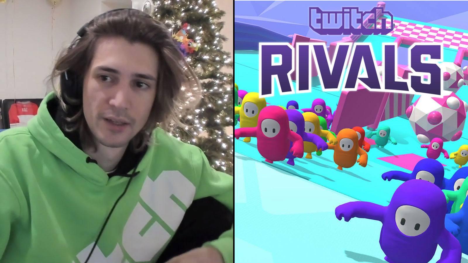xQc triche durant les Twitch Rivals
