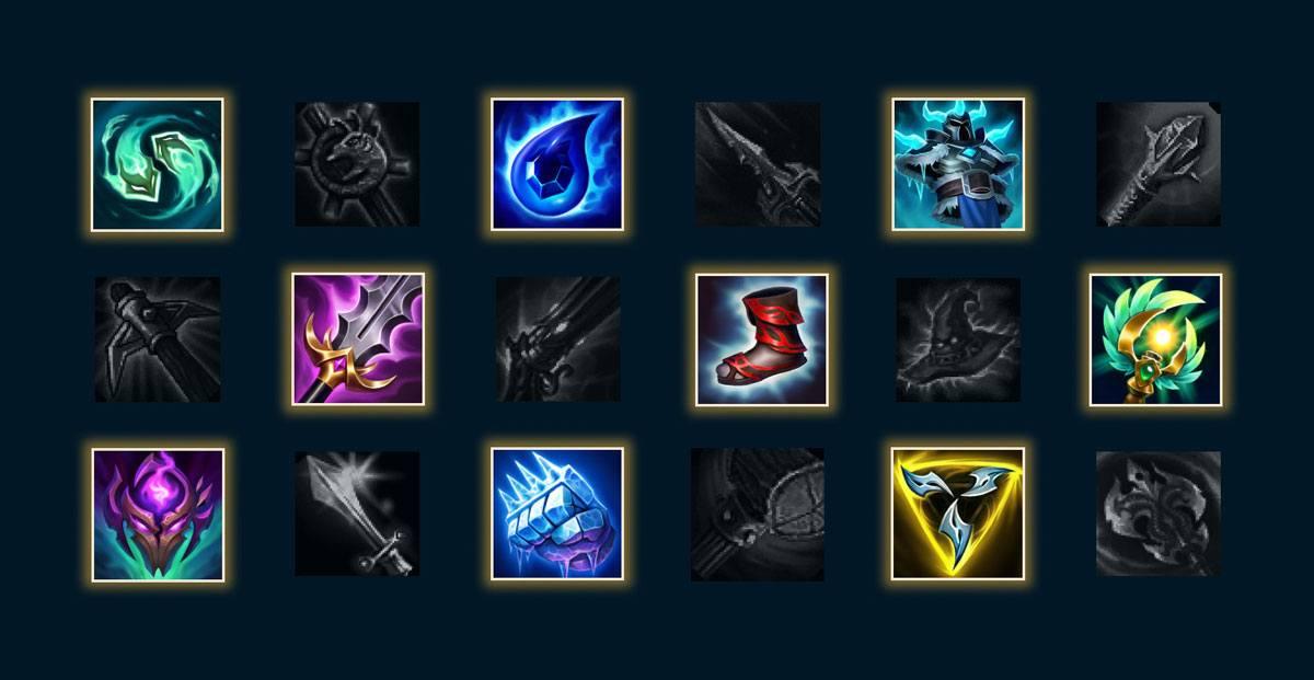 Items Saison 11 League of Legends