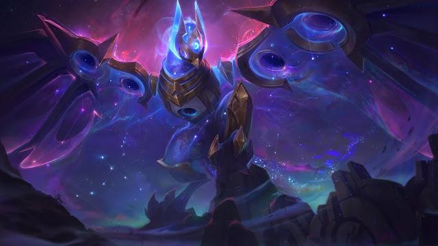 Skin League of Legends 10.24 Cosmic Anivia