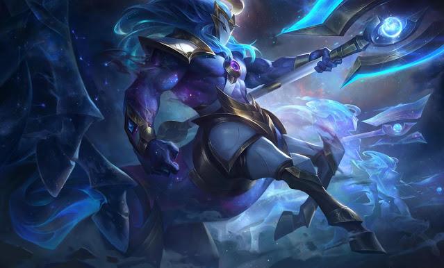 Skin League of Legends 10.24 Cosmic Hecarim