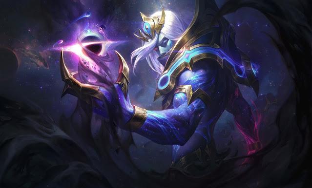 Skin League of Legends 10.24 Cosmic Vladimir