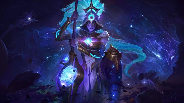 Skin League of Legends 10.24 Cosmic Nidalee