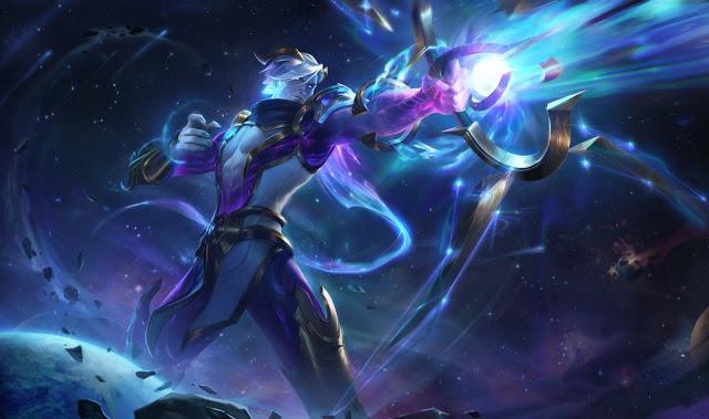 Skin League of Legends 10.24 Dark Cosmic Varus