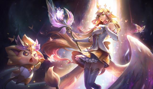 Skin League of Legends 10.24 Prestige Star Guardian Soraka