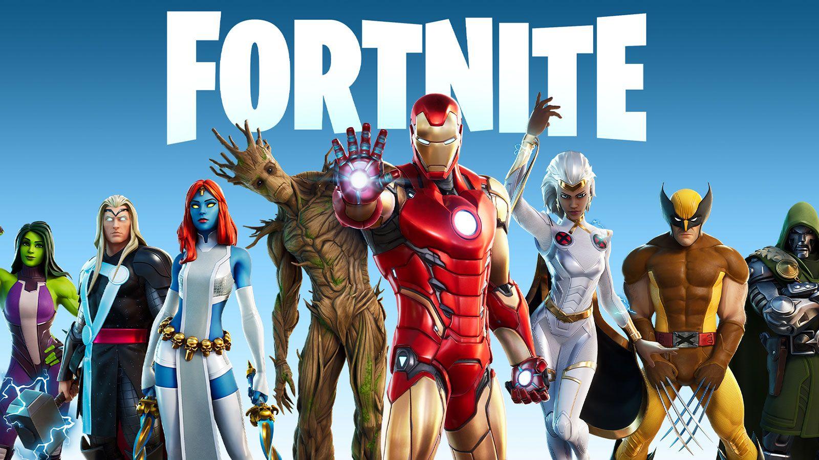 Fortnite super-héros Epic Games