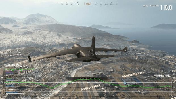 test Xbox Series X Warzone 120 fps Eurogamer