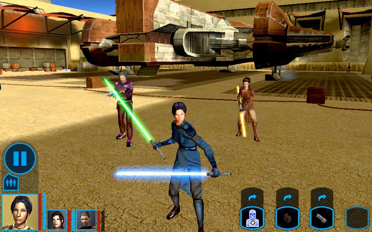 Capture d'écran de Star Wars: Knights of the Old Republic