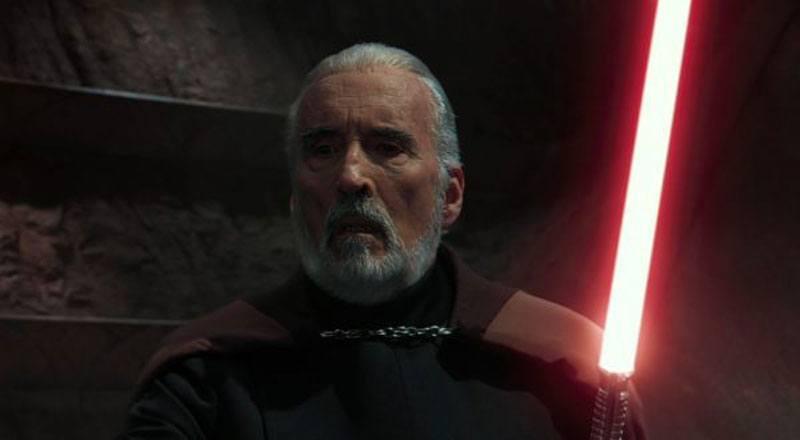 Le Compte Dooku dans Star Wars II