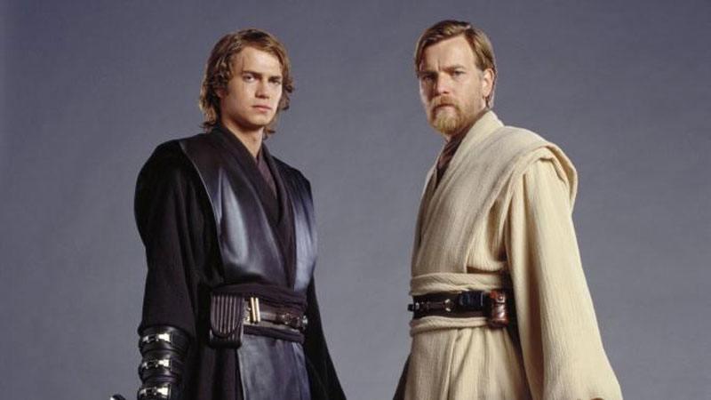 Anakin et Obi-Wan dans Star Wars