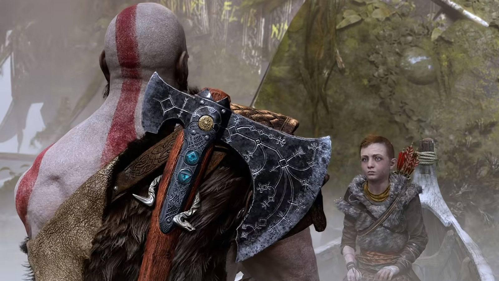 God of War 2018 Kratos Atreus