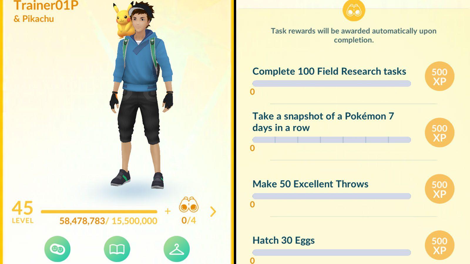 Pokémon Go passage niveau 40 + Niantic