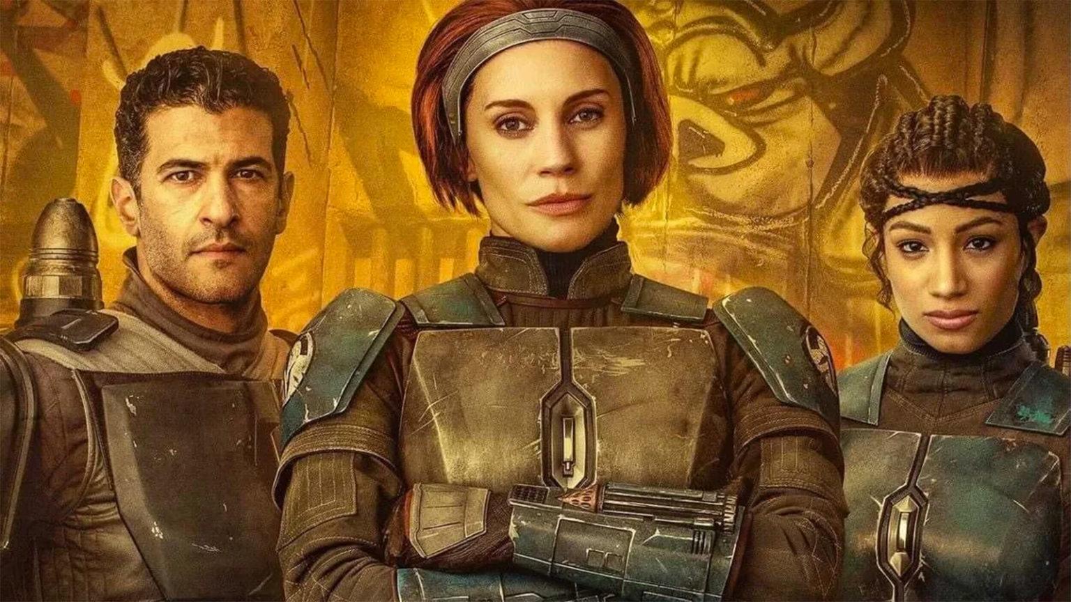 Sasha banks est récement apparue dans The Mandalorian