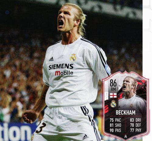 Élément David Beckham gratuit sur FIFA 21