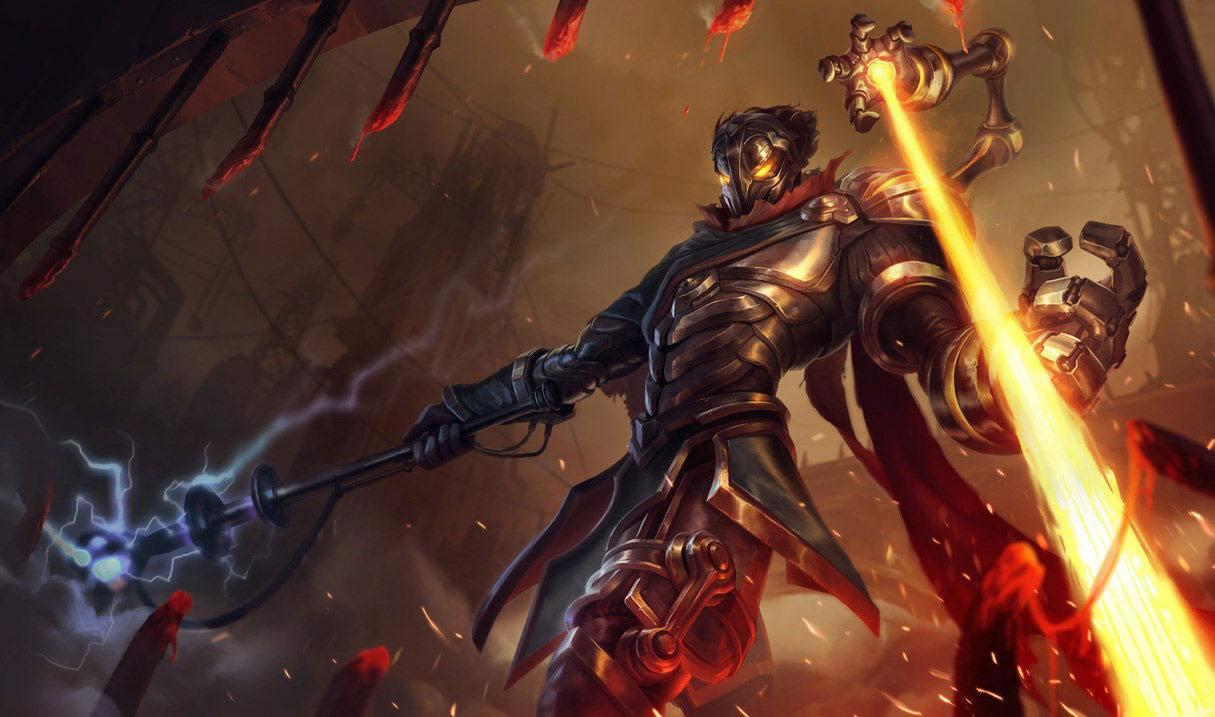 Viktor League of Legends 10.23