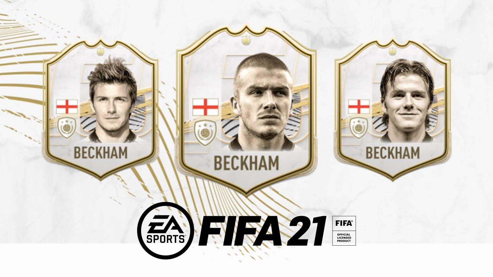 Icône David Beckham sur FIFA 21