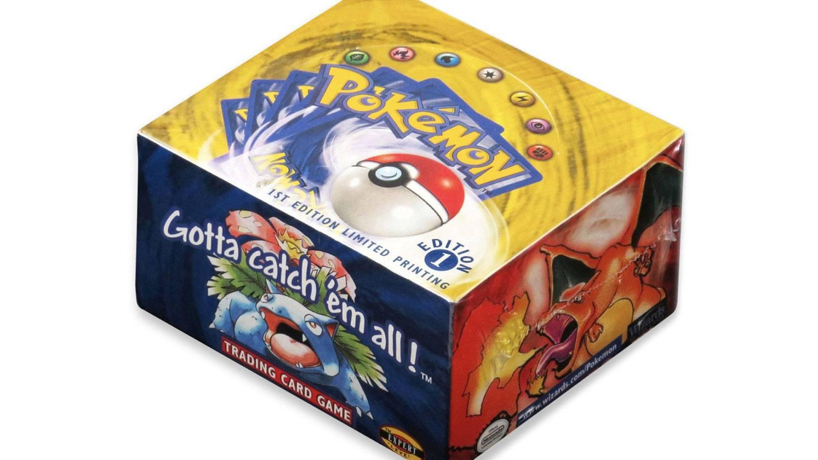 boite boosters Pokémon 1999 1re édition base set