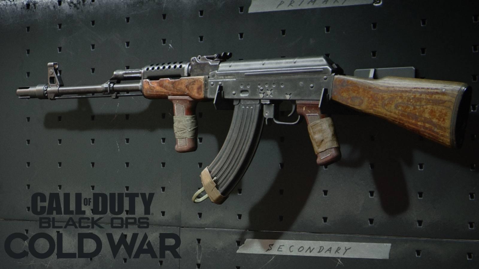 BOCW AK-47 recul négatif Treyarch