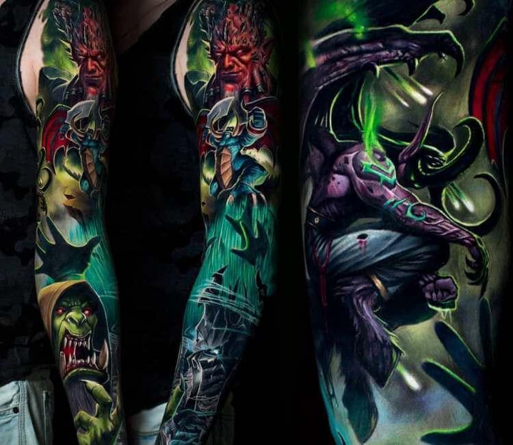 Tatouage de la Légion ardente World of Warcraft
