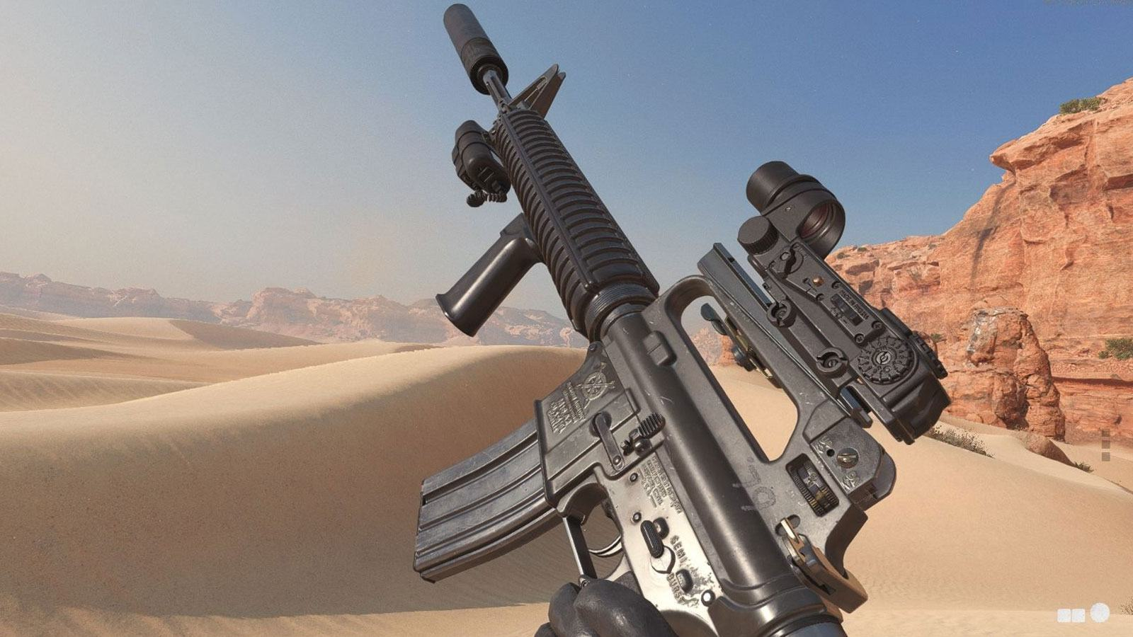 BOCW M16 Treyarch