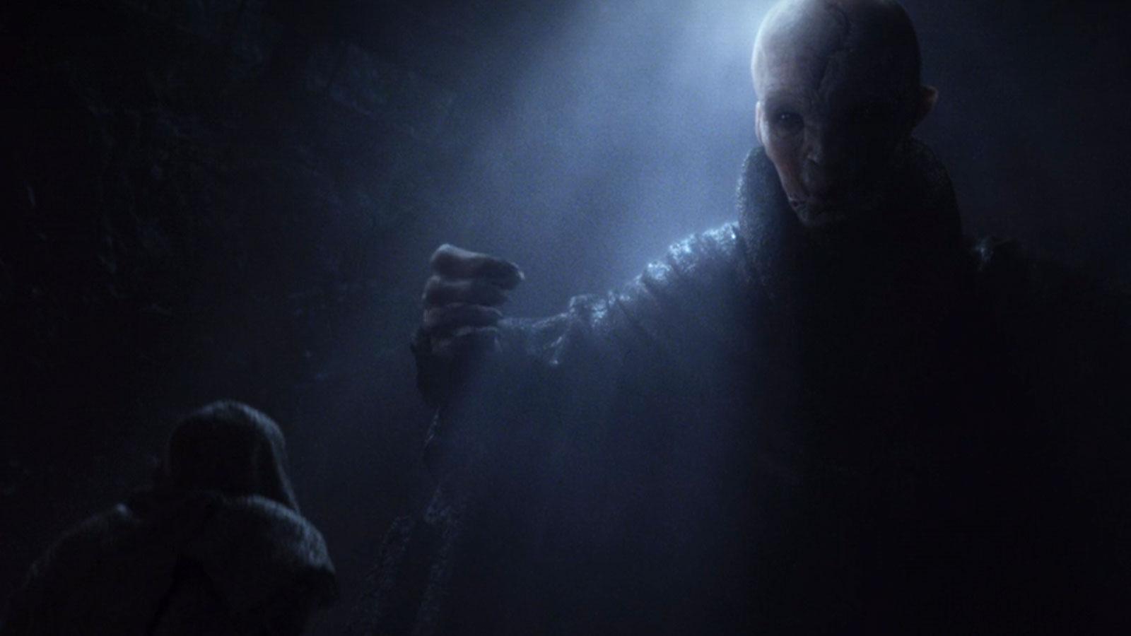 Snoke a inspiré de nombreuses théories aux fans de Star Wars