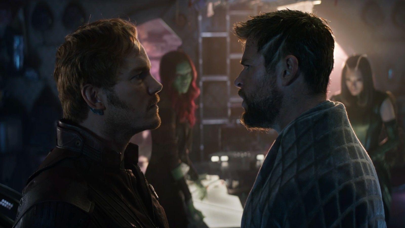 Le duo Chris Pratt / Chris Hemsworth déchaîne les passions