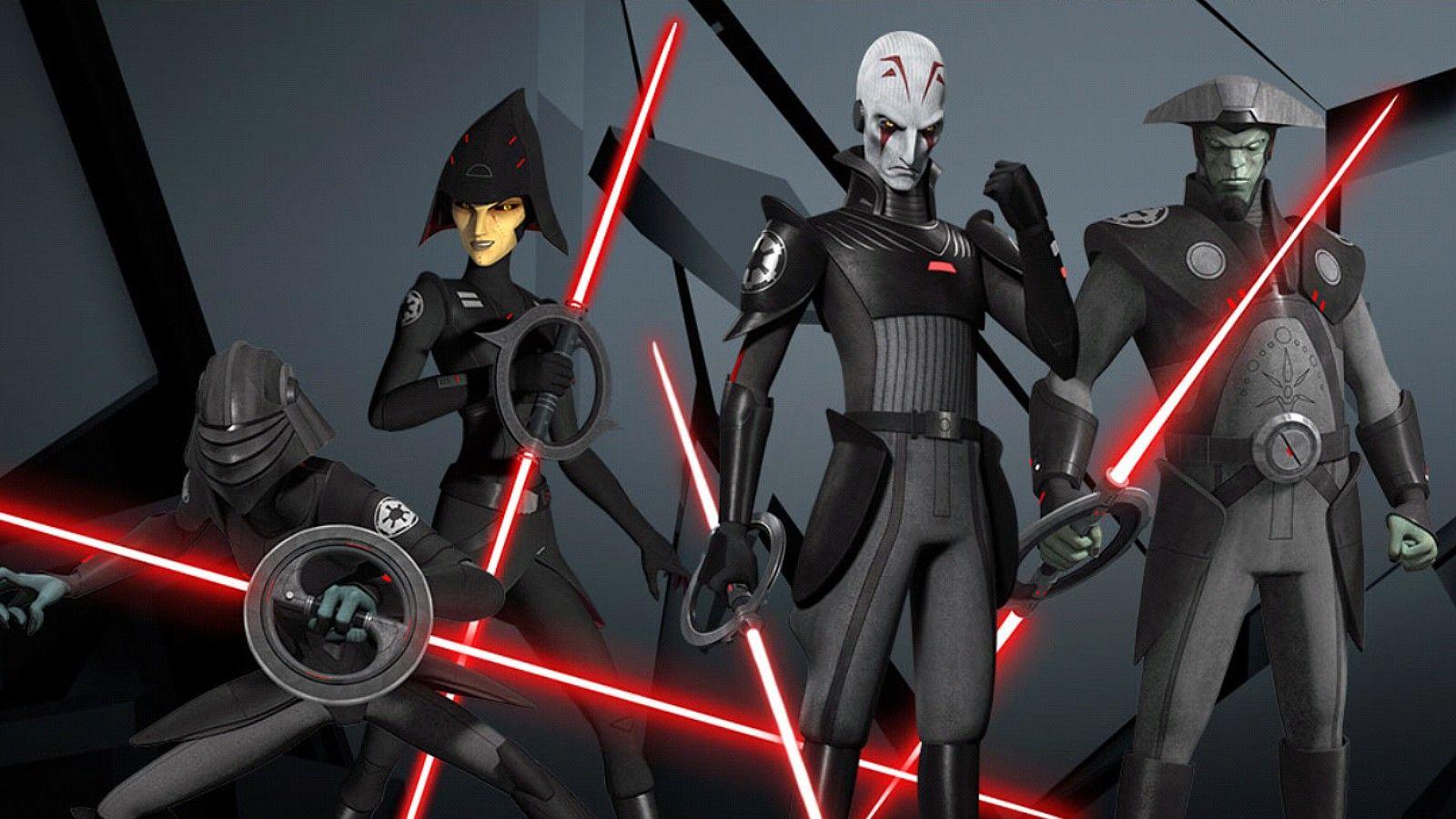 Les Inquisiteurs de Star Wars Rebels