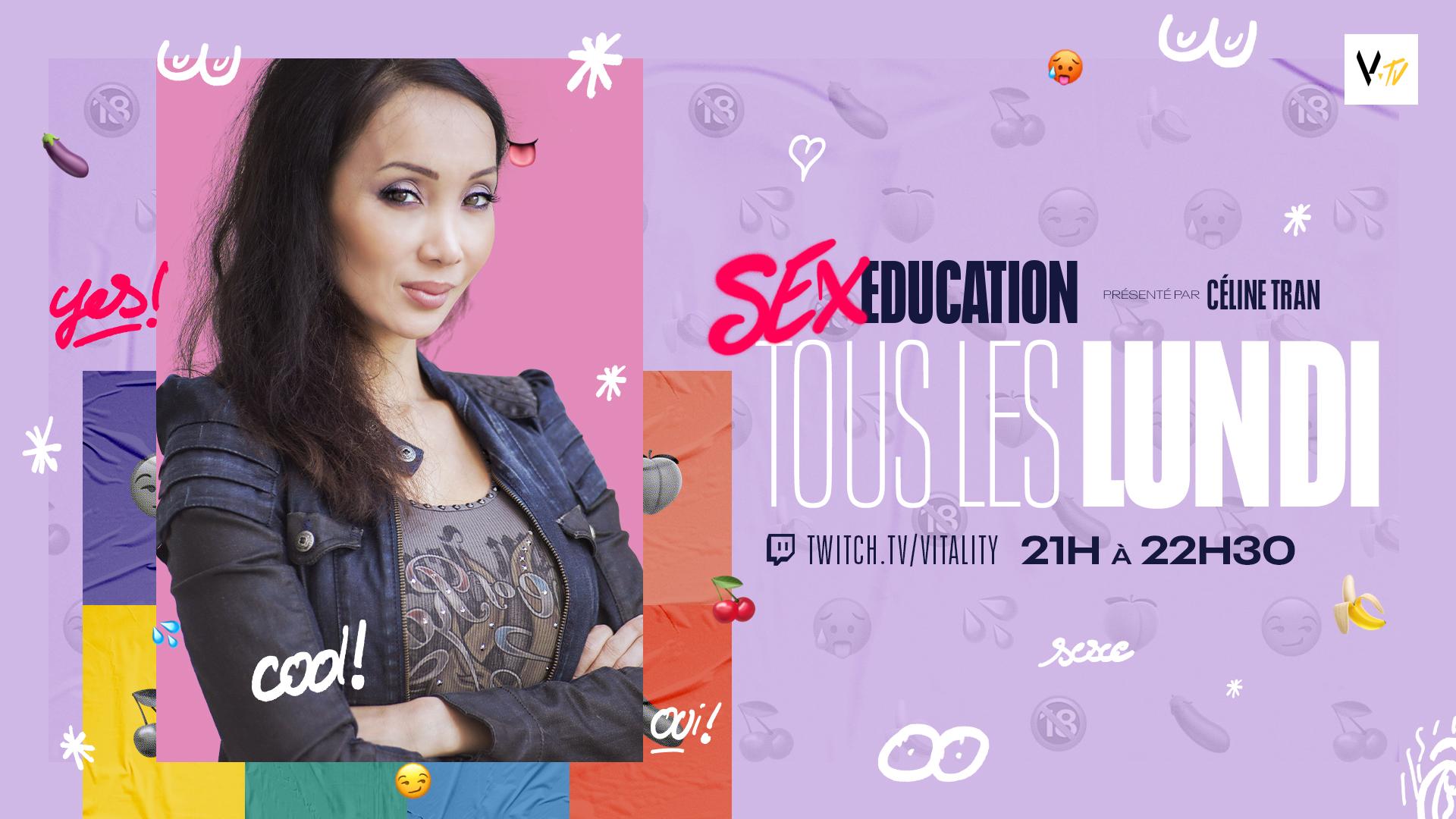 Vitality a annoncé l'arrivée de sa nouvelle émission Sex éducation